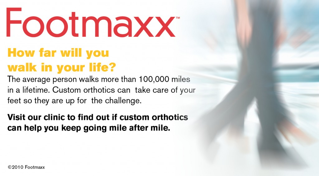 Custom orthotics by Footmaxx