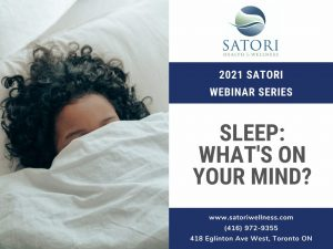 Sleep Webinar Title Card